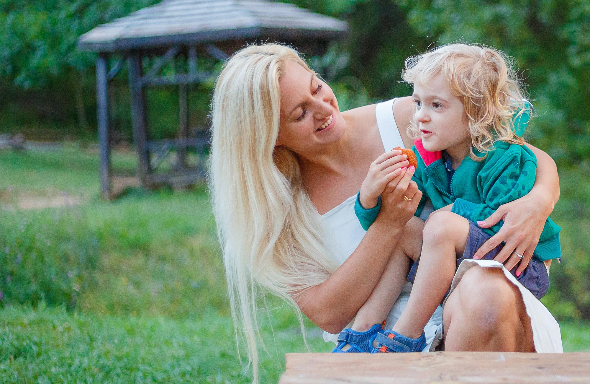 Healthy food for toddlers and up, prepared by a mom